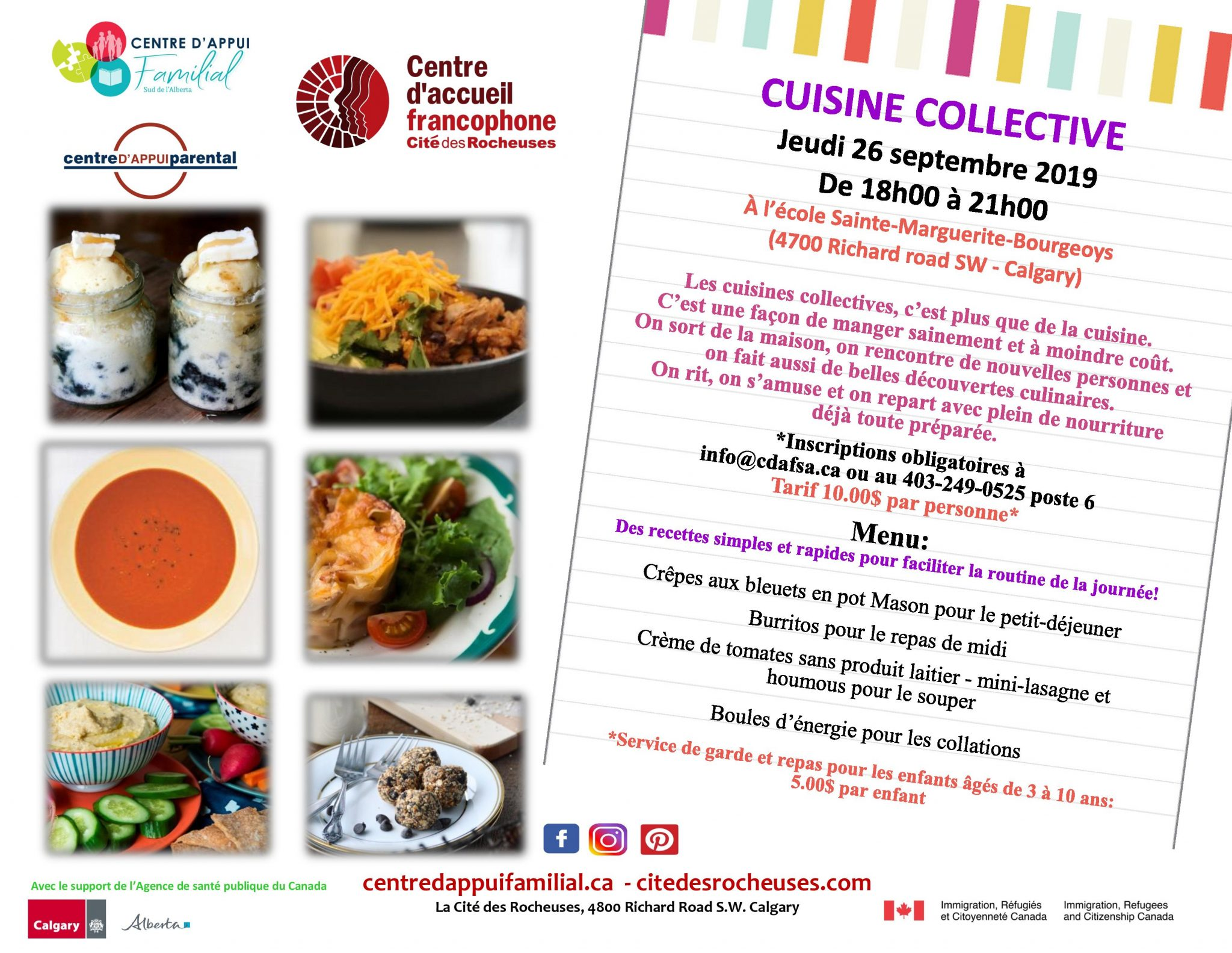 Cuisine Collective 26/09/2019